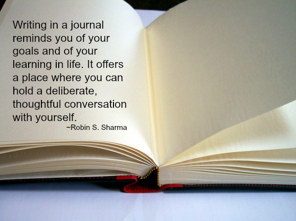 tips on relaxation Write in a journal
