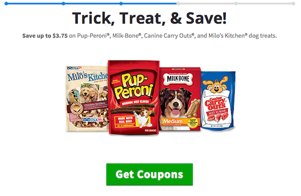 Halloween Pup-peroni Milk Bone pet treat coupons from Kroger #TrickOrTreatEm #collectivebias #shop #cbias