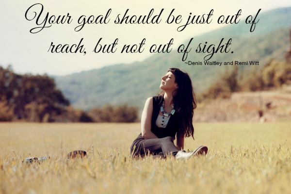 Set Achievabe Goals Quote