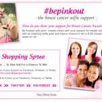 #bepinkout the breast cancer selfie support contest