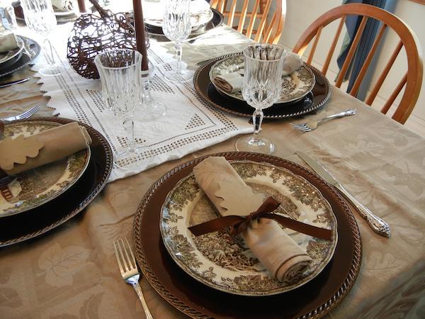 Thanksgiving Tablescape #BBNshops