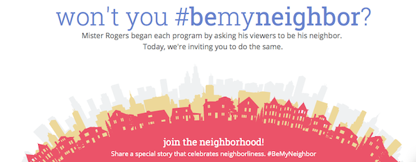 Won't You #BeMyNeighbor Website