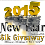 New Year 1k Giveaway
