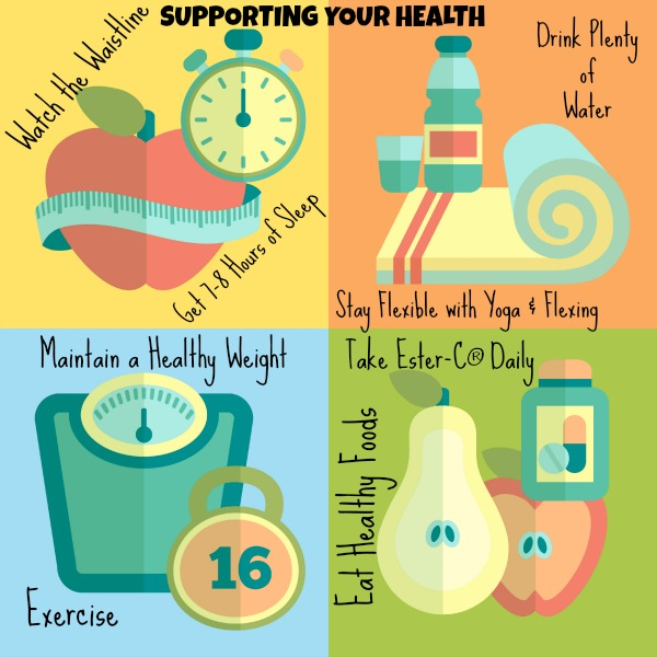 Supporting your health with Ester-C Vitamin C #24HourEsterC #CollectiveBias