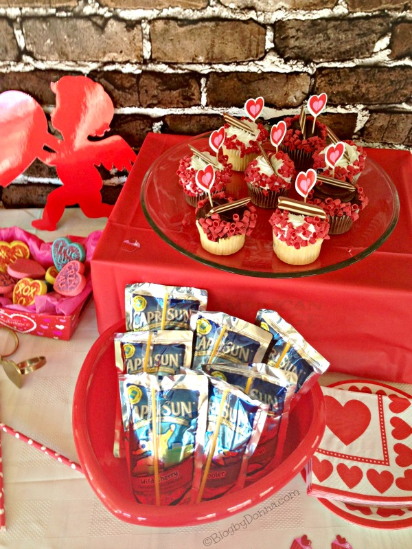 Capri Sun Party Valentine's Day #CapriSunParties #collectivebias