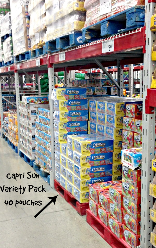 Capri Sun at Sam's Club for #CaprSunParties Valentine's Day party #collectivebias