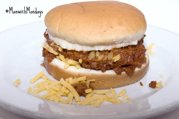 Manwich with cheese #ManwichMondays