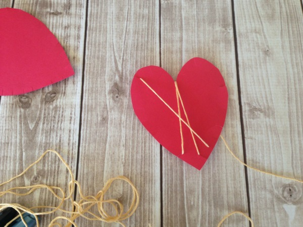 String HEART Craft Tutorial 5 continue to string