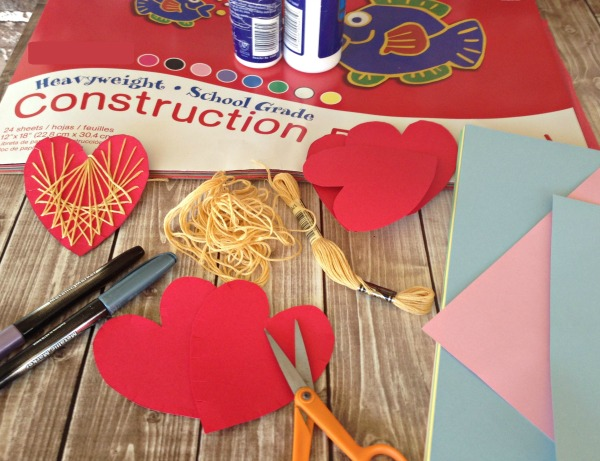 String HEART Tutorial Supplies 1
