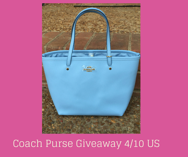 Coach Purse Giveaway Pic