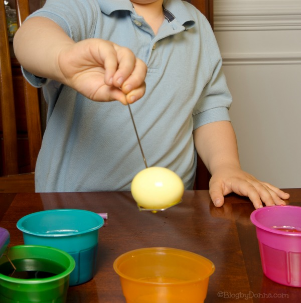 Make Coloring Eggs a Family Event