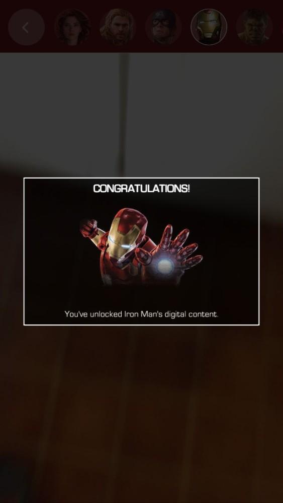 Avengers App Unlocked Iron Man