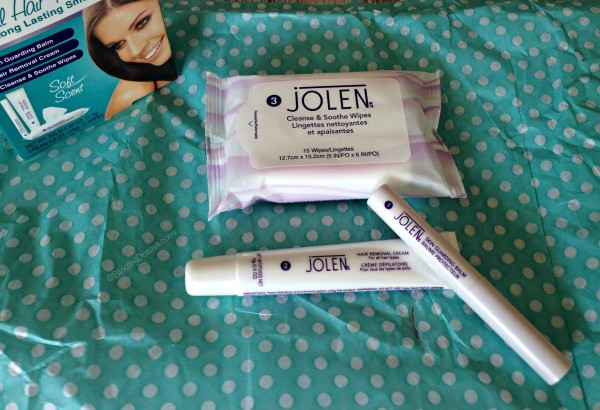 Jolen Facial Hair Removal Kit