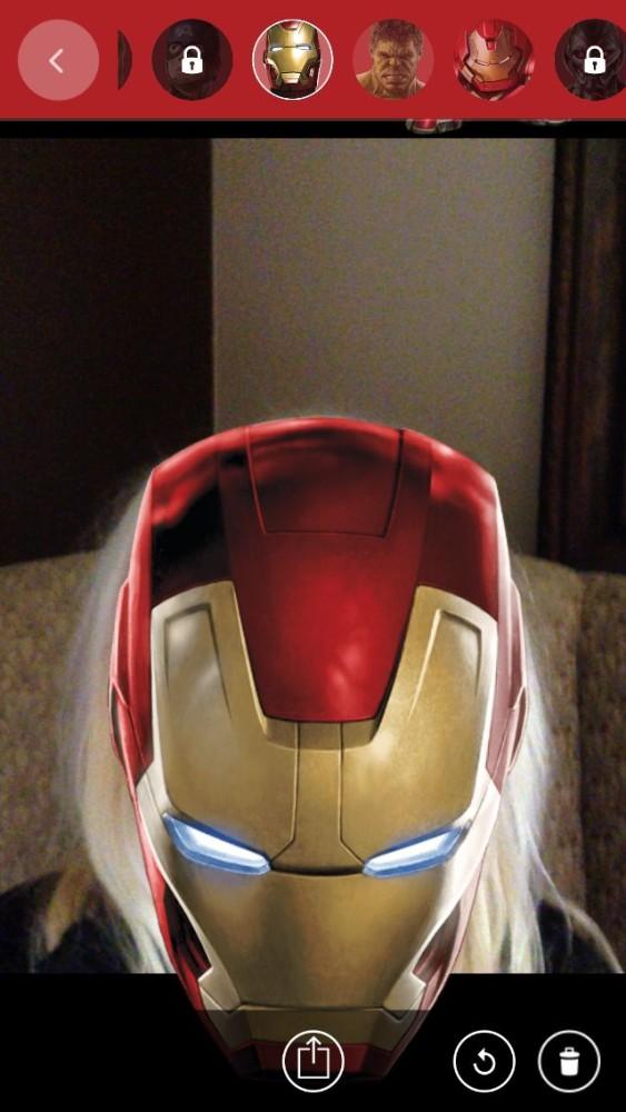 Me as Iron Man