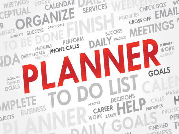 Work from home made easy by planning, organizing Just do it