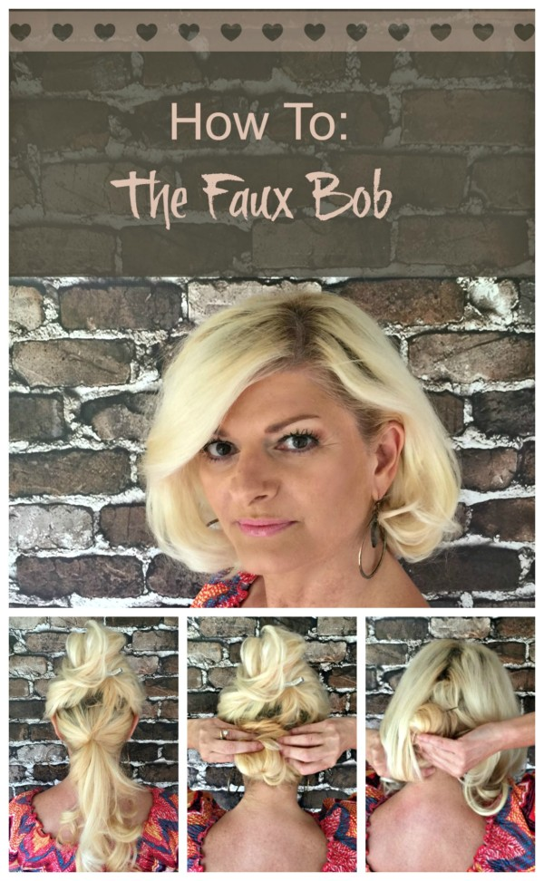 How to Faux Bob Collage #StyleItYourself