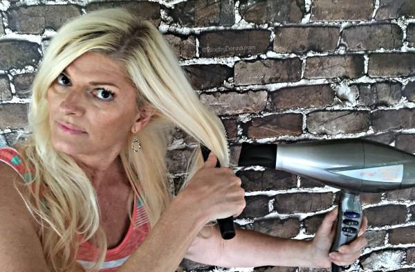 Using Conair Hair Dryer