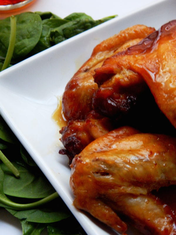 Slow Cooker Honey Garlic Chicken Wings Recipe