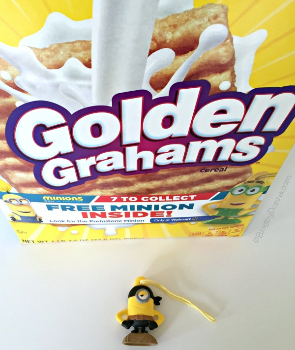 Golden Grahams Minion #The7thMinion