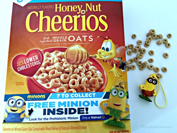 Minion from Honey Nut Cheerios #The7thMinion