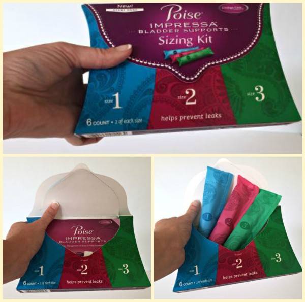 Poise Impressa help with stress urinary incontinence