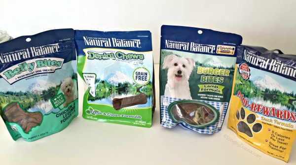 Natural Balance healthy dog treats #NaturalBalance