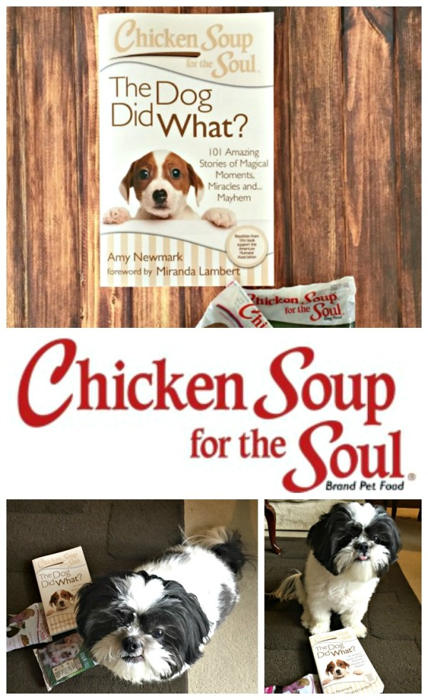 Chicken Soup for the Soul pet food #mypetismyhero