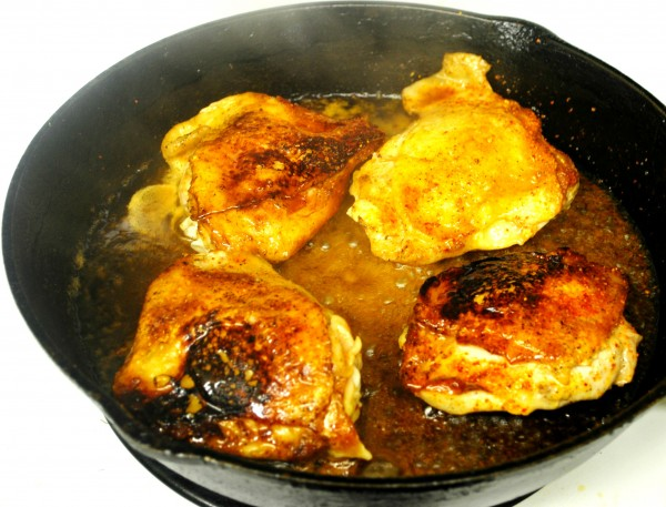 Cast Iron Skillet Honey Lime Chicken