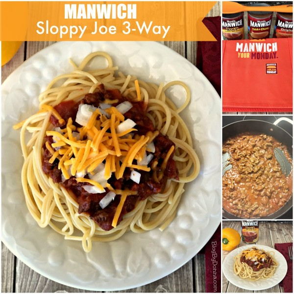 Manwich Sloppy Joe 3-Way Make it a #ManwichMonday with Manwich #NationalSloppyJoeDay