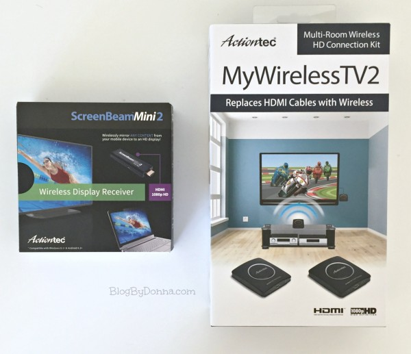 Actiontec MyWirelessTV 2 and ScreenBeam Mini2
