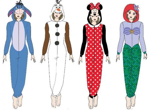 Disney Character Richard Leeds International Onesie pajamas