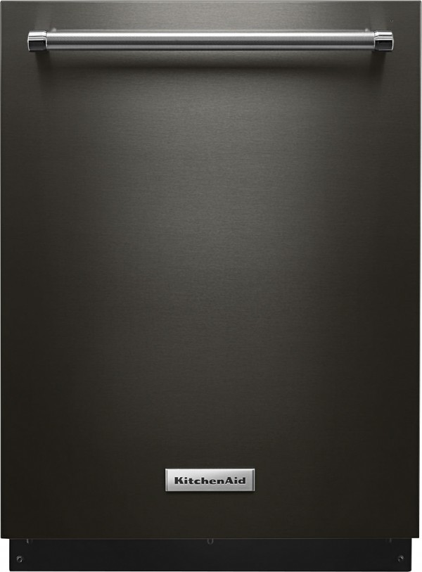 KitchenAid black stainless steel dishwasher from Best Buy