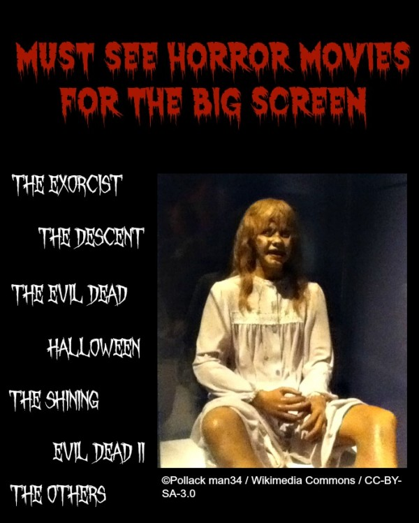Must See Horror movies on the Epson ultra bright home theater projector - The Exorcist