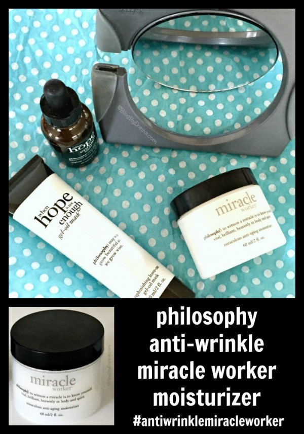 philosophy anti-wrinkle miracle worker moisturizer