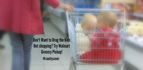 Don't drag the kids into the store with Walmart Grocery Pickup. It's a #sanitysaver