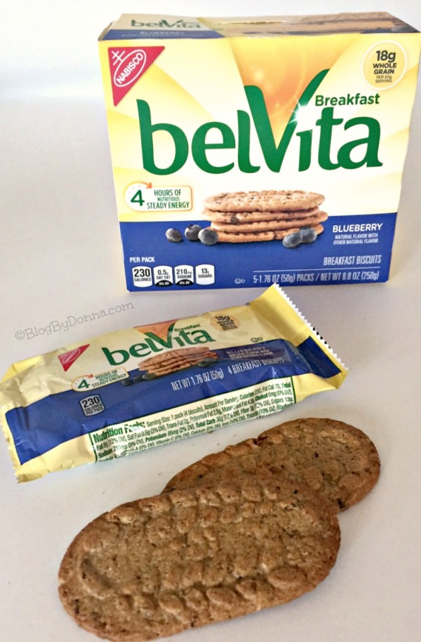 belVita Breakfast Biscuits in Blueberry from Walmart
