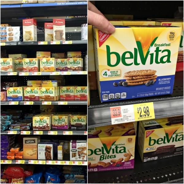belVita Breakfast Biscuits for a grab & go breakfast at Walmart