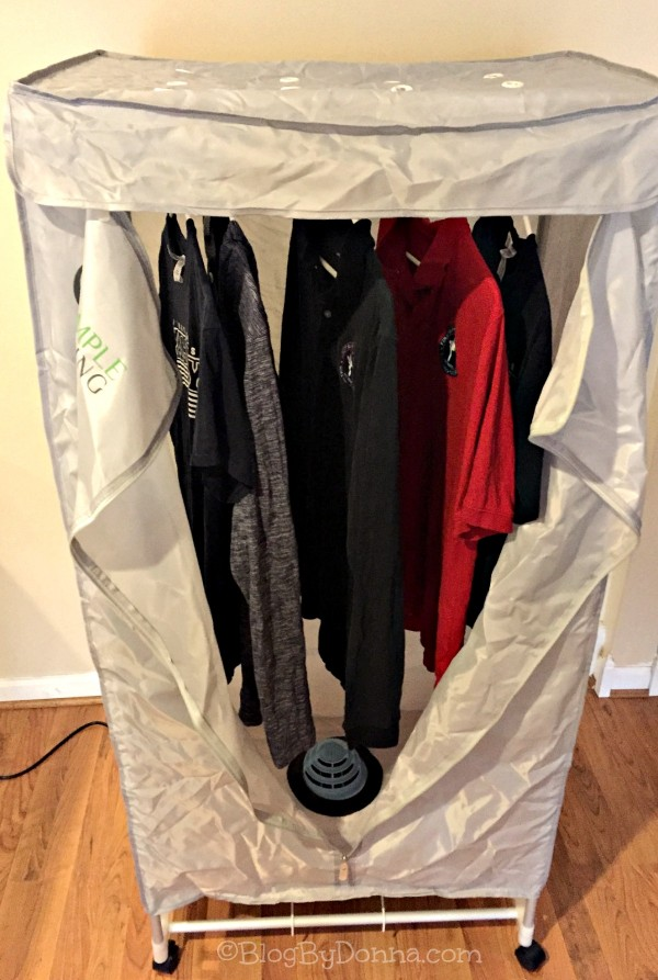 Simple Living Clothes Dryer hang up wet clothes inside...