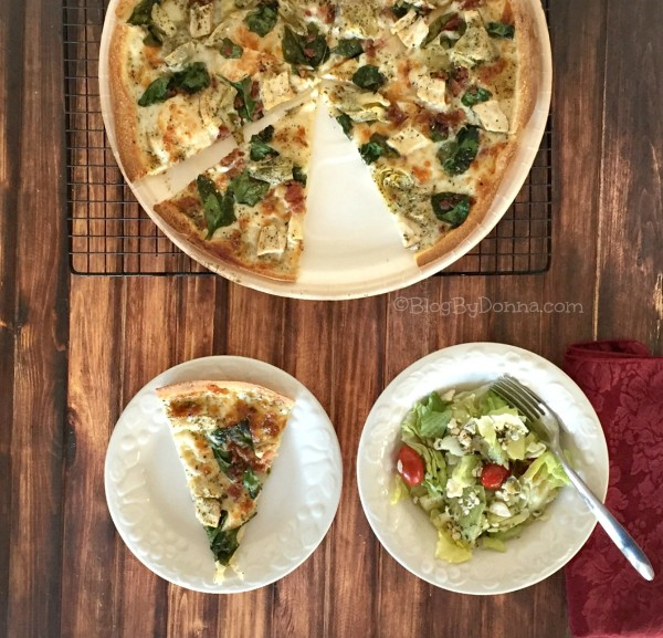 Papa Murphy's take and bake pizza saving dinnertime