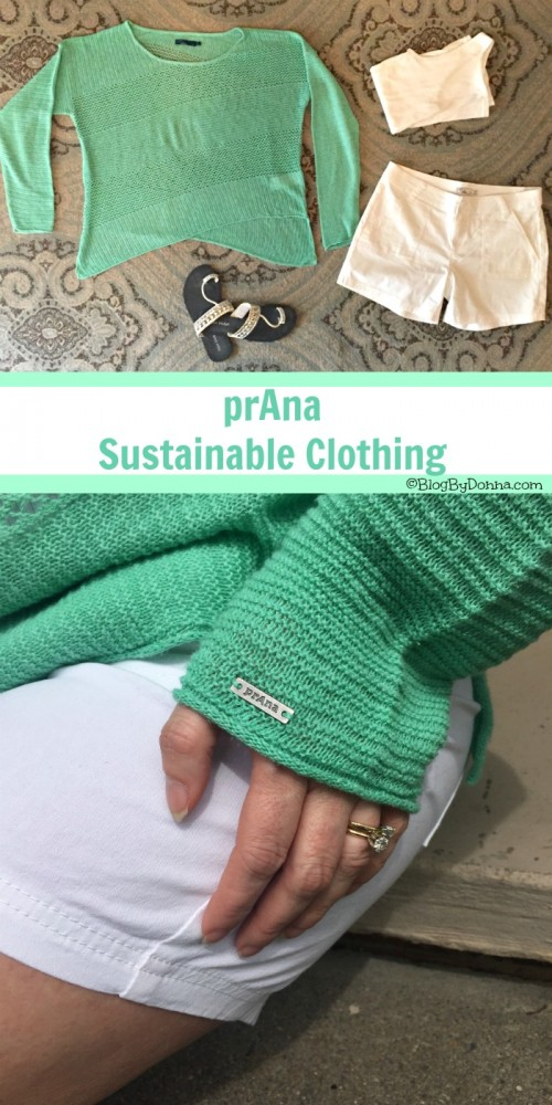 Sustainable clothes from prAna