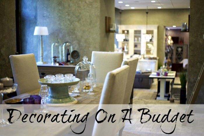 Decoraing your home on a budget