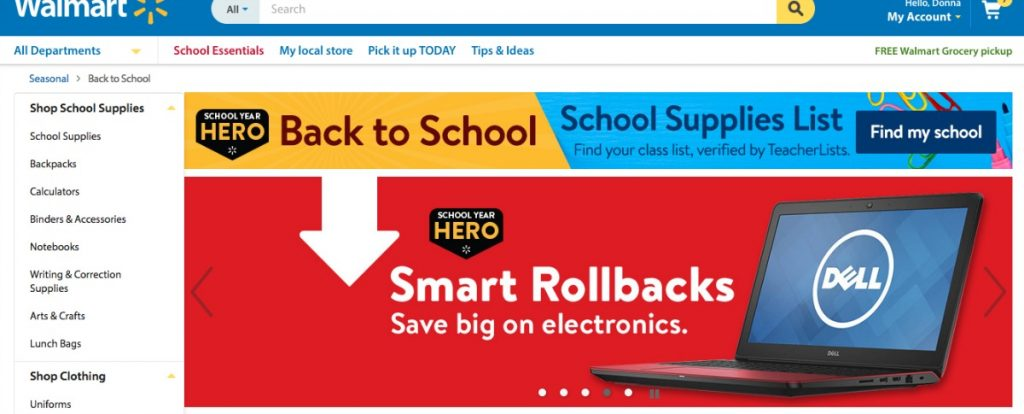 Shop Walmart.com for back to school deals #BackToBusiness