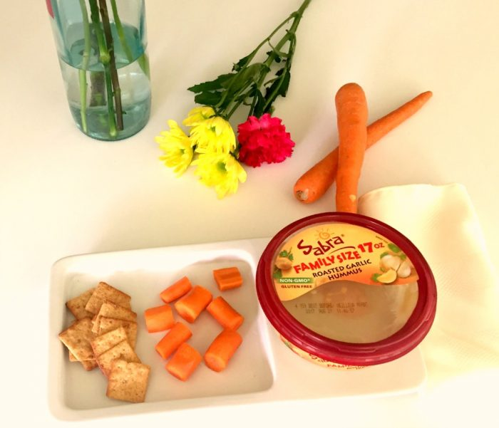 Sabra hummus with Farmer's Market Fresh vegetables #walmartfarmersmarket