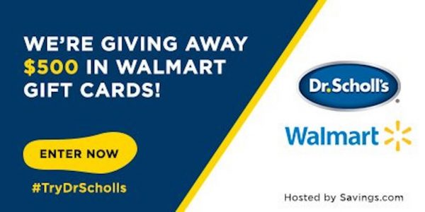 Dr. Scholl's $500 giveaway and Dr. Scholl's coupon