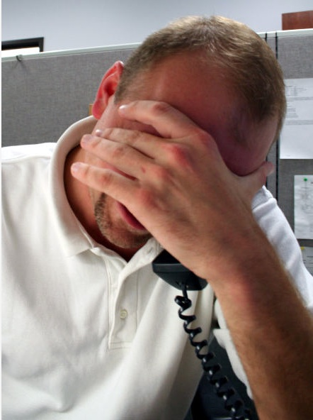 BBD FacePalm 9 Ways to Relieve Stress at Work