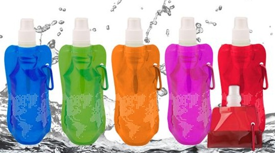 CollapsibleWaterBottles Deal of the Day: Collapsible Water Bottles