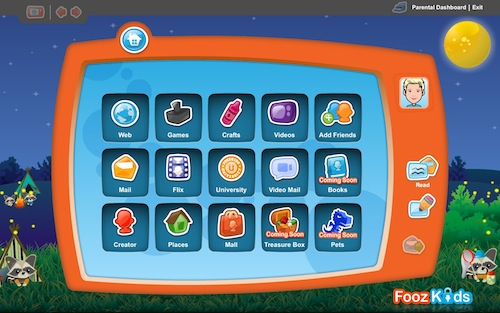 FoozKidsScreen Fooz Kids Gives Parents Some Peace of Mind