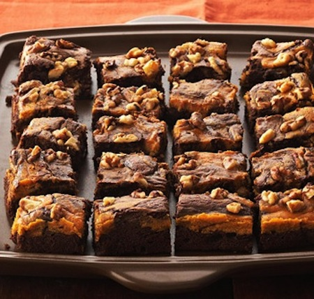 MarbledChocPumpkinBrownies Pumpkin Recipes: A Delicious Roundup