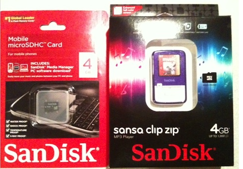 SanDisk SanDisk Sansa Clip Zip Review & Giveaway (CLOSED)