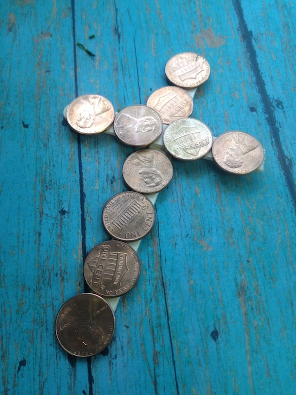 paid in full coin cross craft an easy diy for kids